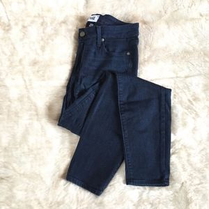 Paige // Verdugo Ankle Dark Wash Skinny Jeans 30